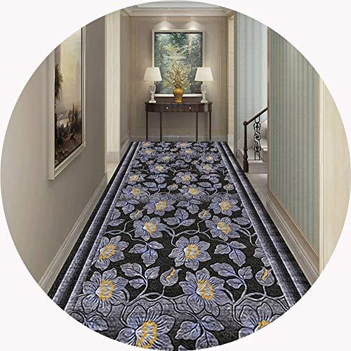 XZPENG Cocina Runner Runner Pasillo Alfombra Alfombras Gran Corredor Área de tapetes, alfombras impresas en 3D, 8 mm de espesor antideslizante Mat, respetuoso del medio ambiente y durable Moda, creati
