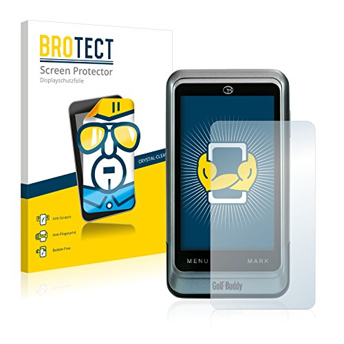 brotect 2-Pièces Protection Ecran Compatible avec GolfBuddy PT4 - Film Protection Ultra Clair