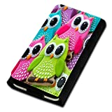 sw-mobile-shop Book Style Flip Handy Tasche Case Schutz Hülle Foto Schale Motiv Etui für Archos 50C Platinum - Flip U4 Design4