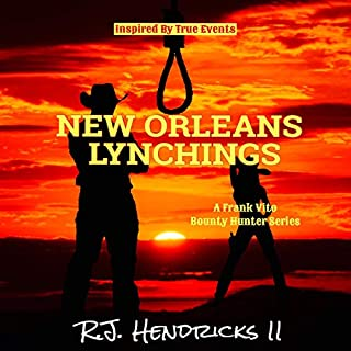 New Orleans Lynchings audiobook cover art