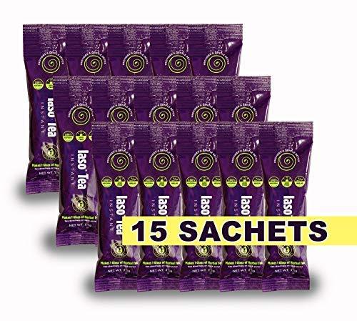 TLC Total Life Changes IASO Natural Detox Instant Herbal Tea (15 Sachets)