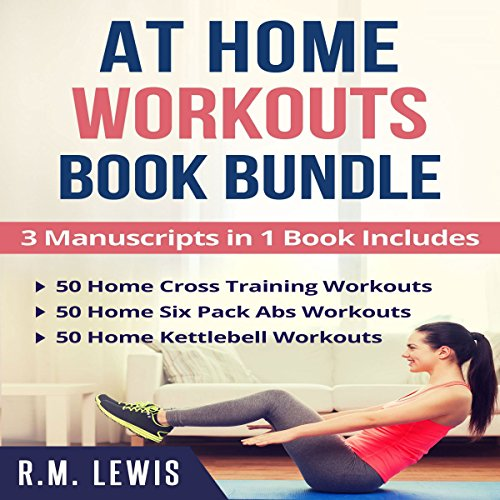 At Home Workouts Book Bundle audiobook cover art