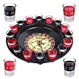 Schramm® Drinking Game Roulette incl. Confezione Regalo Party Game Drinking Game per Adulti