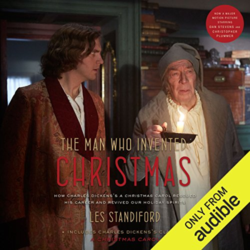 The Man Who Invented Christmas audiobook cover art