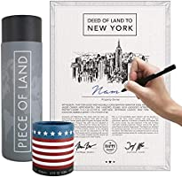 happylandgifts® Real New York property as a unique gift | Certificate of ownership with desired name to register...
