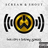 KONGQTE will.i.am Scream & Shout Musikalbum Kunst Plakat