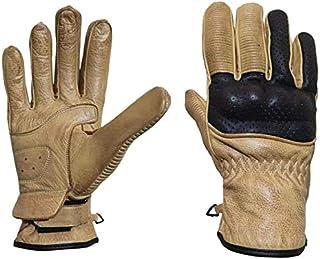 Touchscreen 2Colours, GA9638HL Hard Knuckle Outdoor Gloves ATV Riding Vgo 1 Pair Premium Goat Leather Full Finger Motorcycle Gloves Motorbike Gloves