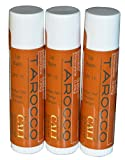 Cali Baronessa Tarocco Sicilian Red Orange Nourishing Lip Balm - Repairs and Nourishes Lips - 0.15 Ounce Each, Pack of 3