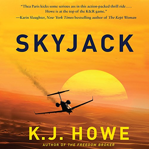 Skyjack audiobook cover art