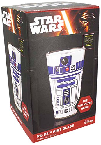 Star Wars - R2-D2 Pint Glass