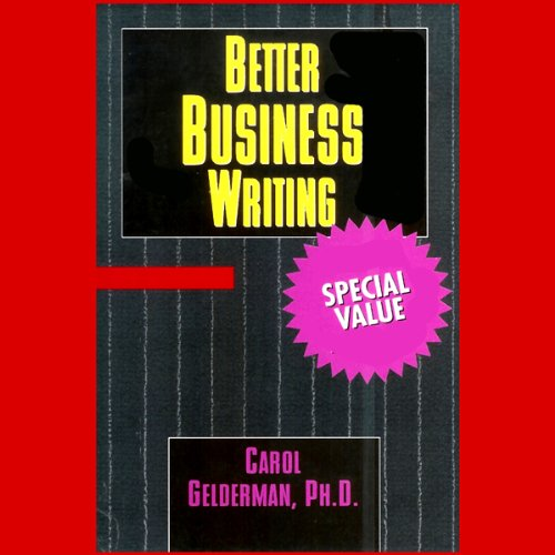 Better Business Writing cover art