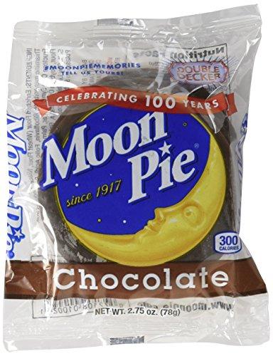 Moon Pie Double Decker Moon Pie, Chocolate Flavor, 12 Ct