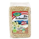 Trigo de sarraceno ecológico sin gluten 2,4kg Bio biológico de grano entero sin OMG alforfón crudo de Austria 6x400g