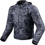 Revit Flare Textiljacke Schwarz XL