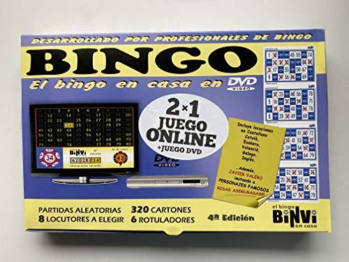 Binvi Bingo DVD 4ªEdición 2X1 Online + DVD