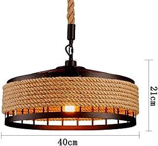 FYH Ventilador del Techo del Restaurante Invisible lámpara de Techo luz del Dormitorio casa con botonera de Mando a Distancia Inteligente, Tercera atenuación de Velocidad LED,Brown