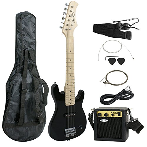 ZENY 30 inch Kids Electric Guitar with 5w Amp, Gig Bag, Strap, Cable, Strings and Picks Guitar Combo...
