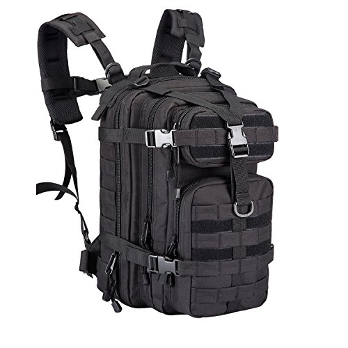 Small Military Tactical Backpack Army Assault Pack Rucksack Bug Out Bag