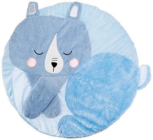 MANHATTAN TOY - Tapis de jeu tactile bleu - Tissu - 212950