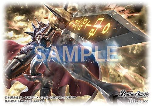 Japan NEW Bandai Battle Spirits Official Collaboration Sleeve Digimon PB-07