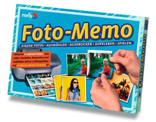 Noris 606049130 - Foto Memo - mit eigenen Bildern