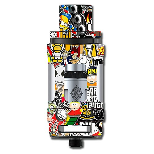Skin Decal Vinyl Wrap for Smok TFV12 Cloud Beast King Tank Vape Mod stickers skins cover/ Sticker Slap