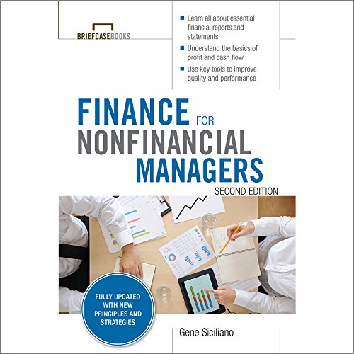 Finance for Nonfinancial Managers, Second Edition audiobook cover art