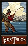 Northwest Art Mall Lake Tahoe Fisherman Kunstwerk von Paul