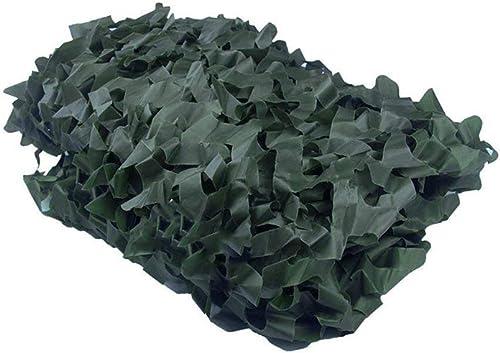 Filet de Camouflage Filet Pare-Soleil Filet De Camouflage en Tissu Oxford Vert pour La Décoration HalFaibleeen De Tente De Camouflage De Forêt Cachée Filet de Camouflage
