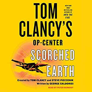 Tom Clancy's Op-Center: Scorched Earth audiobook cover art