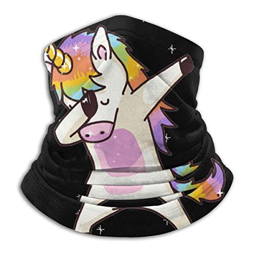 AEMAPE Unicornio Cute Dabbing Funny Dab Dance.PNG Bandanas faciales, envolturas para la Cabeza, Polainas para el Cuello, pasamontañas, Bufanda para Exteriores para Hombres y Mujeres