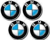 4 Stück BMW Plakette mit Klebefolie D=64,5MM 3er 5er 6er 7er 8er X5 Z1 Z3 (36131181080)