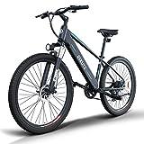 ESKUTE 27,5'' E-Bike MTB Bicicleta Elctrica de Montaa con Batera de Litio 48V10Ah, MTB Pedal Assist, Bicicleta Elctrica para Adultos 250W, Shimano 7 Velocidades, Amigo Fiable para Explorar