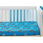 EVERYDAY-KIDS-2-Pack-Fitted-Boys-Crib-Sheet-100-Soft-Microfiber-Breathable-and-Hypoallergenic-Baby-Sheet-Fits-Standard-Size-Crib-Mattress-28in-x-52in-Nursery-Sheet-PiratesGrey