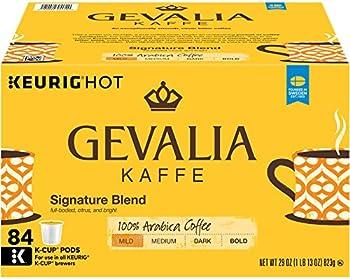 84-Count Gevalia Signature Blend Coffee, Mild, K-CUP Pods