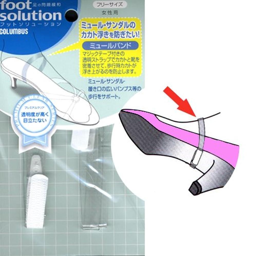 変装野ウサギ緯度フットソリューション(footsolution) ミュールバンド レギュラーサイズ#80