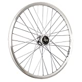 Taylor-Wheels 26 Pulgadas Rueda Delantera Bici ZAC2000 Dinamo buje Sport plat.