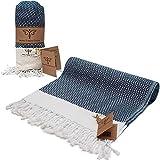 Smyrna Original Turkish Beach Towel Cotton, Prewashed, 37 x 71...