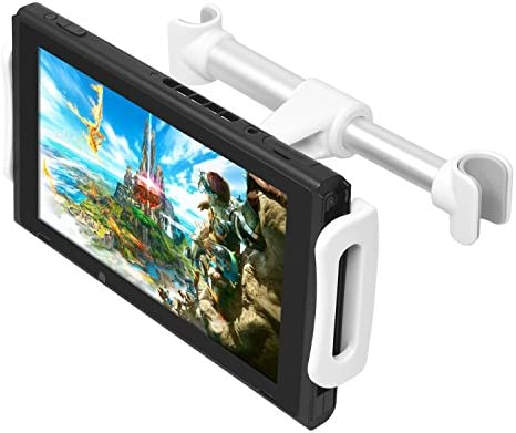 FYOUNG Car Headrest Mount for Nintendo Switch Adjustable Car Holder for Nintendo Switch iPhone product image