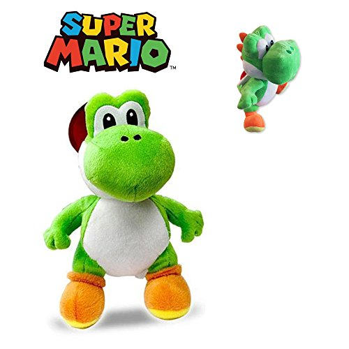 Super Mario Bros - Plüschtier Yoshi 30cm Superweiche Qualität Super Mario Bros