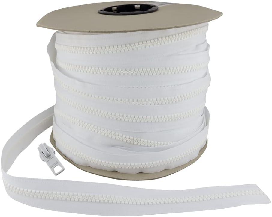 EZ-Xtend #10 Lenzip Chain Vislon Zipper by The Yard as 5 Yards +