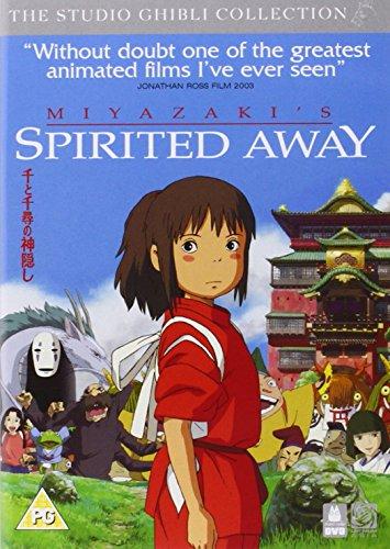 千と千尋の神隠し スタジオジブリ 英語版 / Spirited Away [DVD] [Import] [PAL, 再生環境をご確認ください]