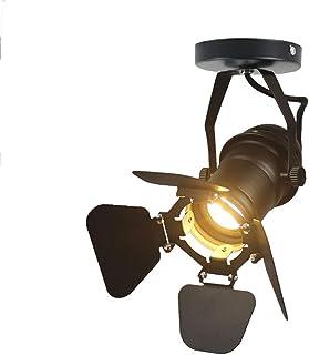 JINYU Loft Vintage Rústico Industrial Lámpara de techo/