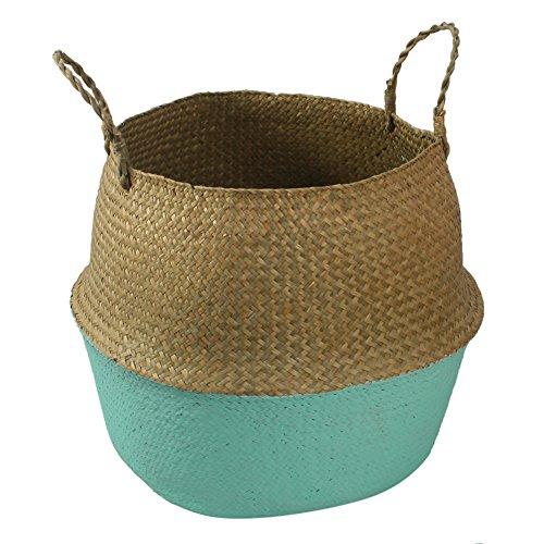 Prokth - Cesta plegable hecha junco marino tejida