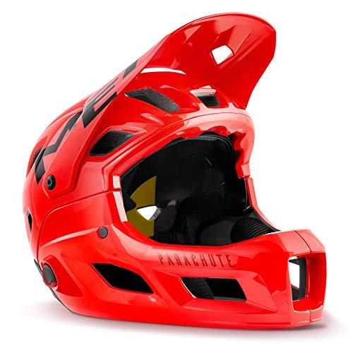 MET helm Parachute MCR MIPS rood 58-60 fietshelm unisex volwassenen rood (rood), L