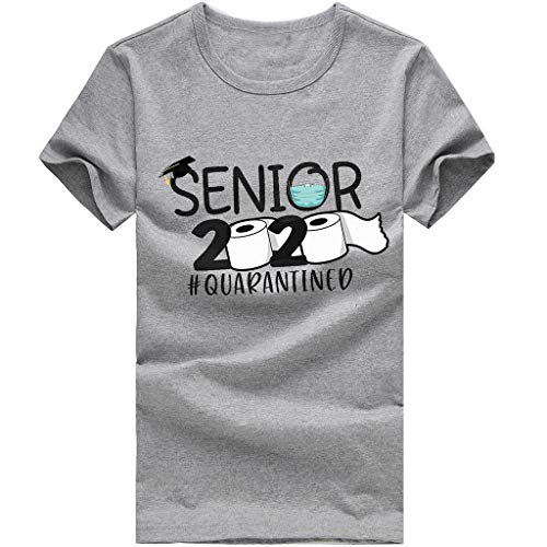 Best Deals! kaifongfu Class of 2020 The Year 2020 T-Shirt Gift for Men Women Ladies Kids Youth Tee(3...