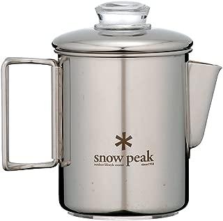 Snow Peak Stainless Steel Coffee Percolator