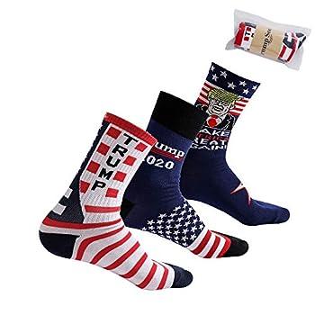 LORDWEY Donald Trump  Donald Trump  Socks 2020 Socks Make America Great Again Novelty Gift Maga 3 type 2