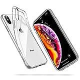 ESR Cover Compatibile con iPhone XS/X, Custodia in Silicone, Crystal Clear, Trasparente
