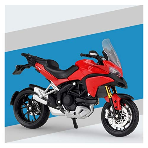 DSWS Kit de modelo de motocicleta 1:18 para Vitpile aleación fundido a presión modelo de motocicleta Shork-Absorber juguete para niños regalos colección de juguetes (color: 5)